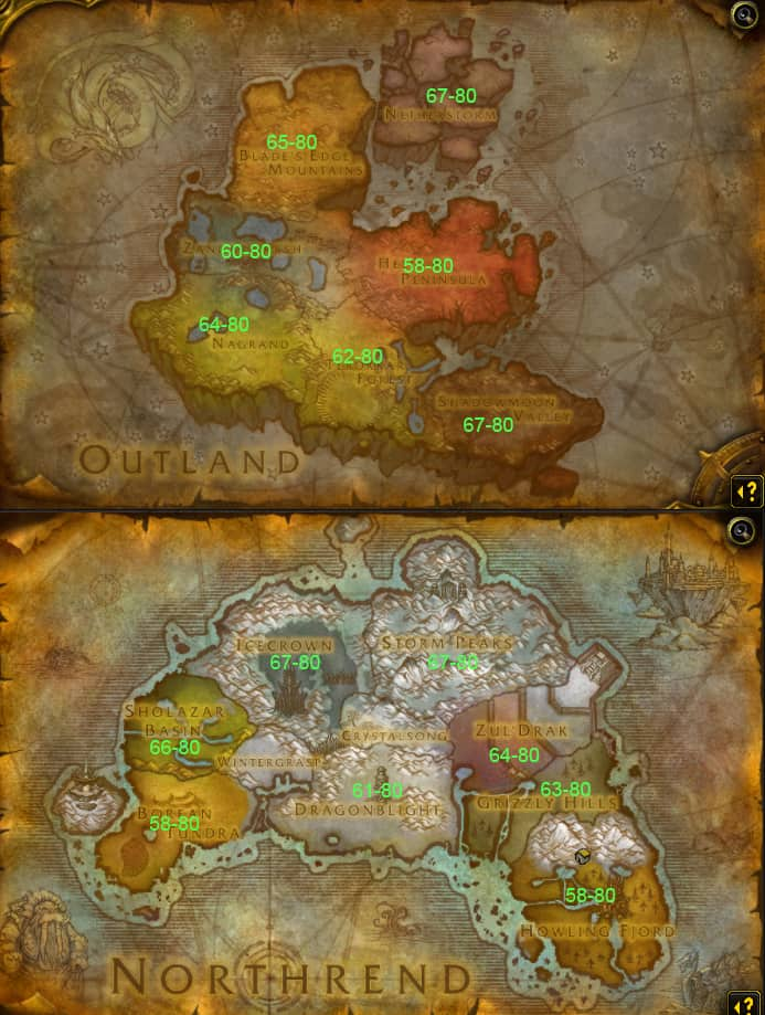 Northrend world map by rsholtis | warcraft map, world of warcraft.