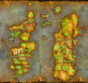 wow-leveling-guide-map