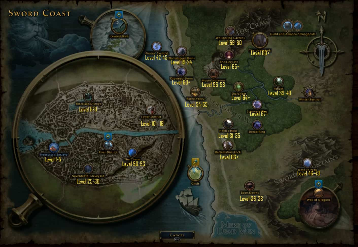 Neverwinter Leveling Guide - Level from 1 to 70 as fast as