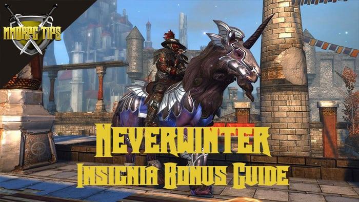 Neverwinter Mount Insignia Bonus Guide - MMORPG Tips