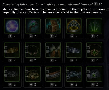 Artifacts mod 16 neverwinter
