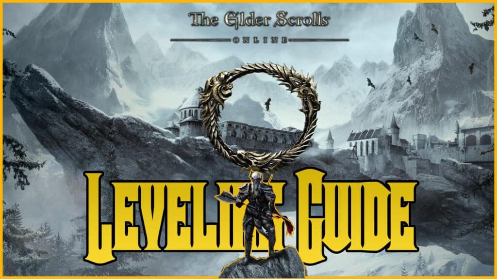 ESO Leveling Guide Header