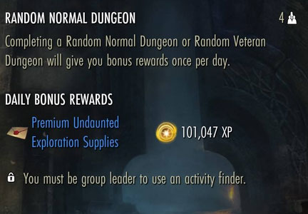 random-daily-dungeon-leveling