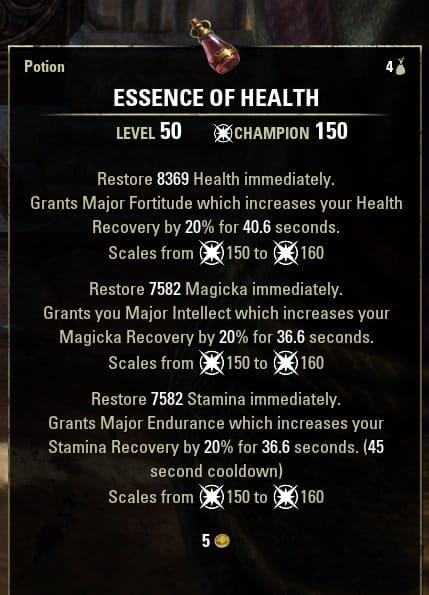 Essence of health tri stat