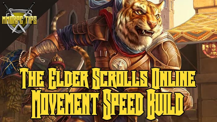 movement speed gold farming build for eso