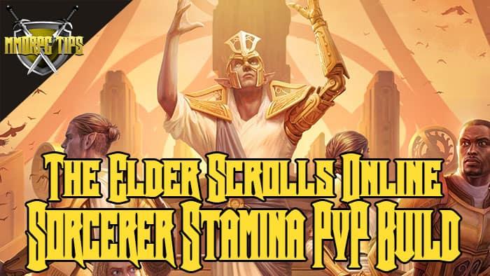 pvp build for stamina sorcerer in eso