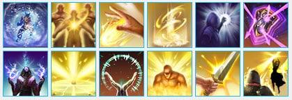 skills for templar healer in pvp