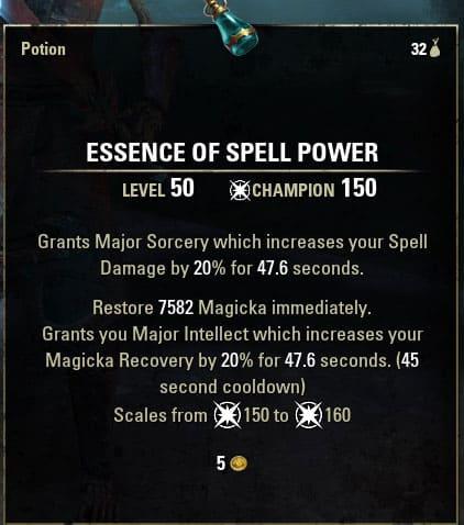 essence of spell power