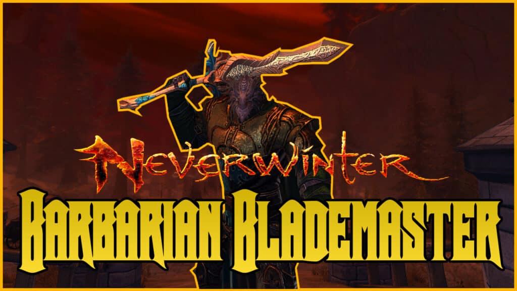 Barbarian Blademaster Build