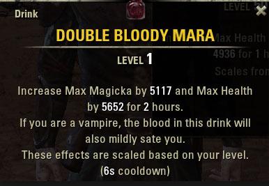 double bloody mara