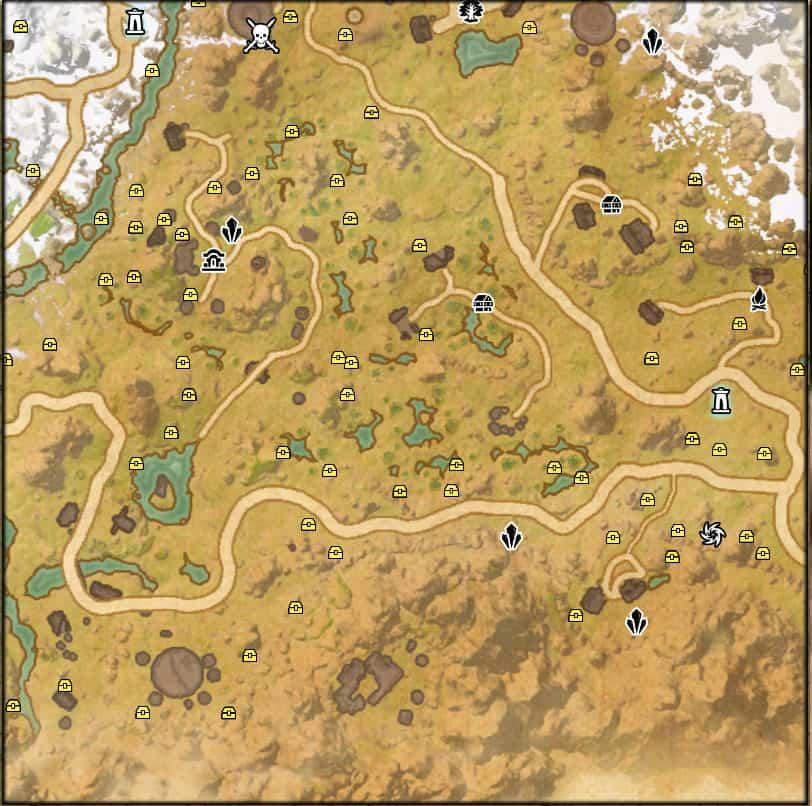 harvest map