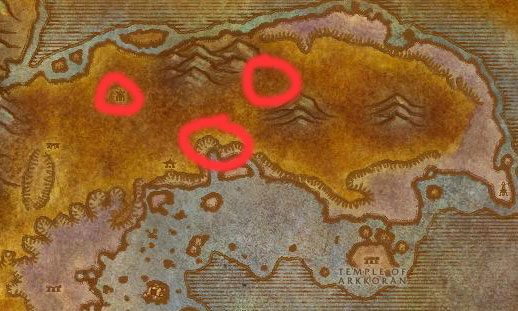 Azshara Legashi Satyr Map