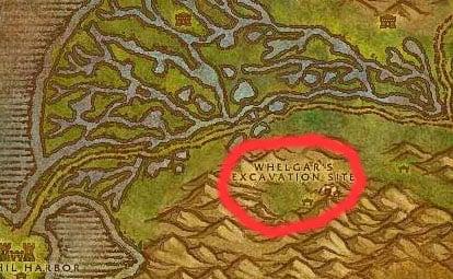 Raptors in Wetlands Map