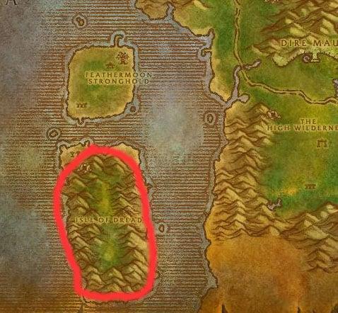 Chimaerok Feralas Map