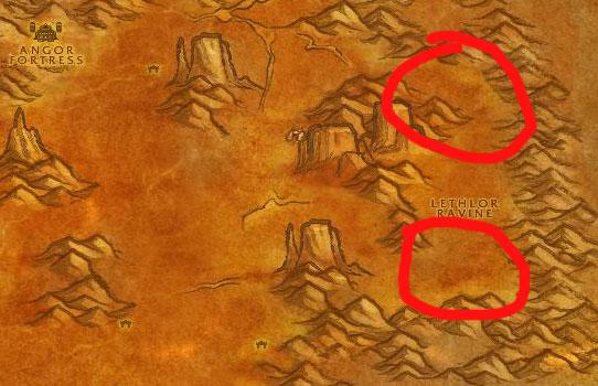 Badlands Whelp Map