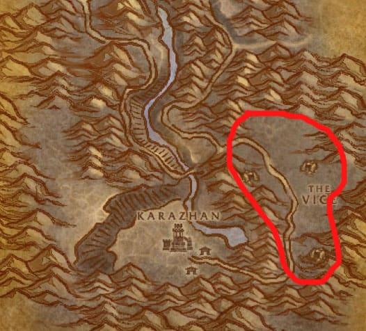 Deadwind Pass Ogres Map
