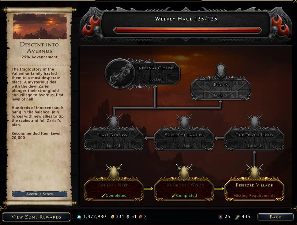 mod 18 infernal descent campaign
