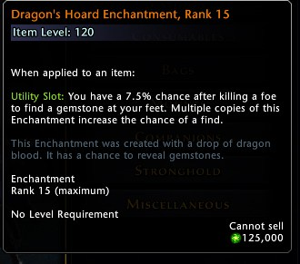Dragons Hoard Enchantment