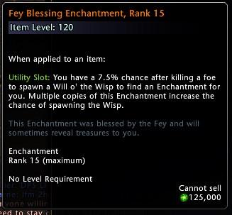 Fey Blessing Enchantment