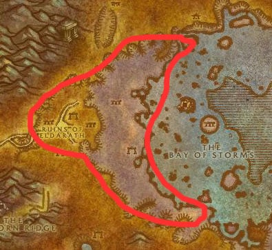 Azshara Naga Map