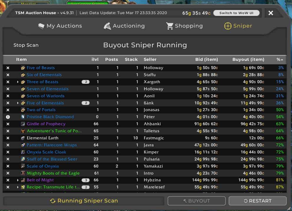 TSM Buyout Sniper