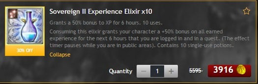 XP potions in DDO will boost your experience for a limited time.
