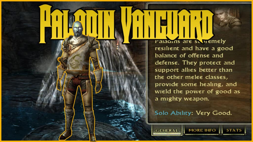 DDO Paladin Vanguard Build