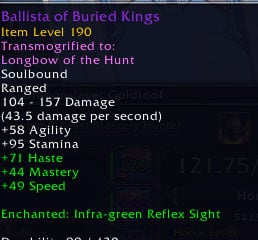 movement speed weapon