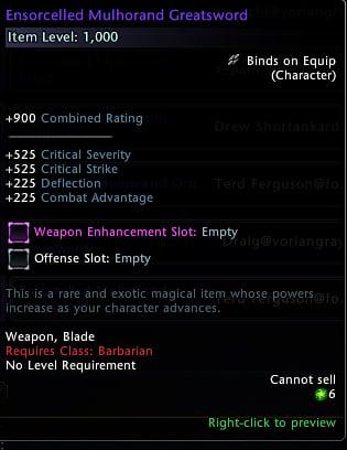 Neverwinter Leveling Guide Gear